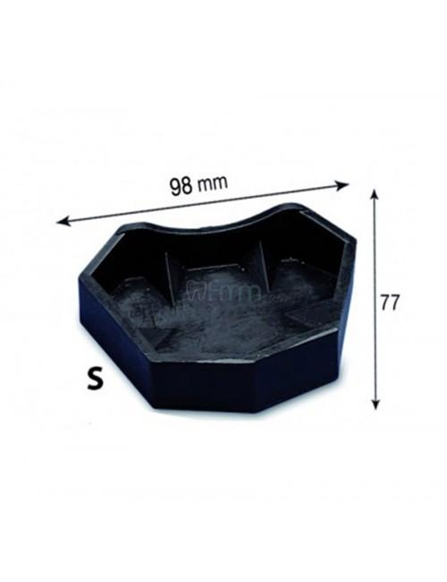 MOULE SUPERIEUR POUR SOCLE POUR MODELE EN PLATRE TECHNIQUE SPLIT-CAST