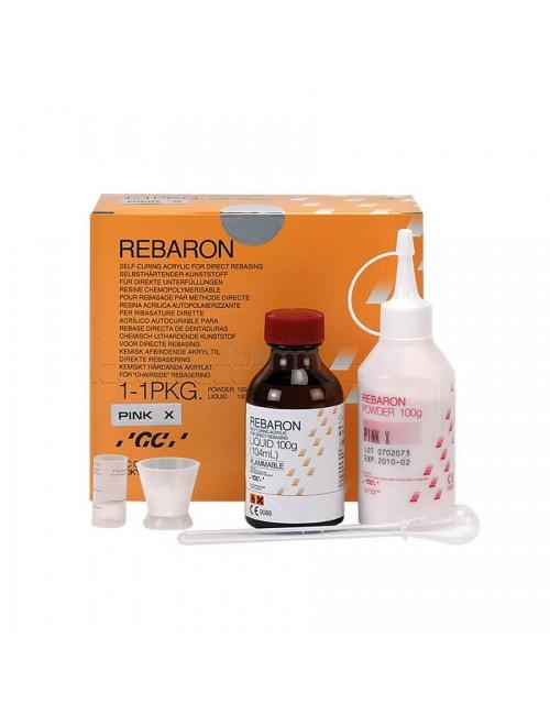 GC COFFRET REBARON POUDRE 100 GRS N°3 ROSE + FLACON 104 ML, REBASAGE*