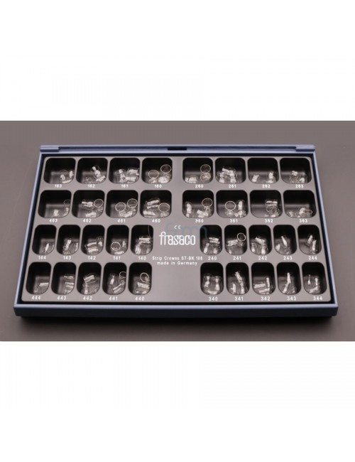 COURONNES TRANSPARENTES FRASACO COFFRET 174 PIECES DENTS DE DEVANT