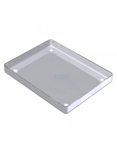 PLATEAU INOX 18,3X14X1,7 CM