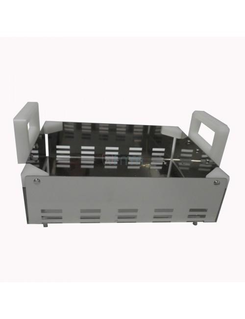 PANIER INOX 250 X 210 X 70 MM POUR BAC ENCASTRABLE
